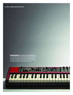 Keyboards Clavia Nord Electro 5D