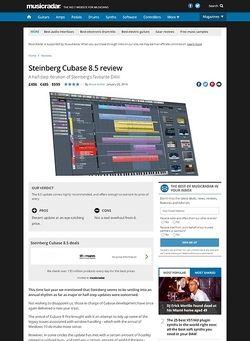 MusicRadar.com Steinberg Cubase 8.5