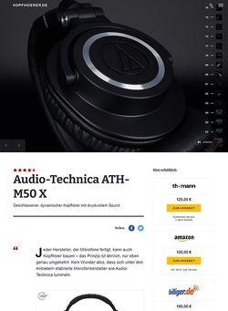 Kopfhoerer.de Audio-Technica ATH-M50 X