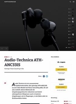 Kopfhoerer.de Audio-Technica ATH-ANC33IS