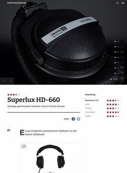 Kopfhoerer.de Superlux HD-660