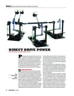 Sticks PDP Concept Direct Drive Bassdrum-Pedale