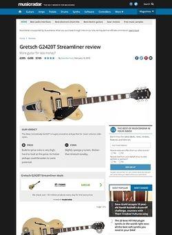 MusicRadar.com Gretsch G2420T Streamliner