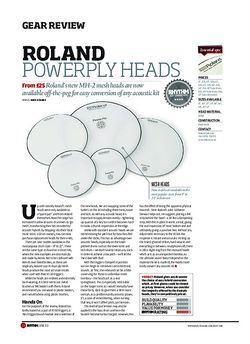 Rhythm Roland Powerply Heads