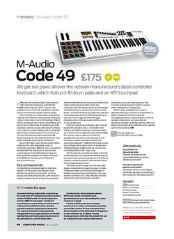 Computer Music M -Audio Code 49