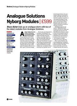 Future Music Analogue Solutions Nyborg Modules