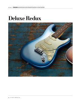 Guitarist Fender American Elite Stratocaster