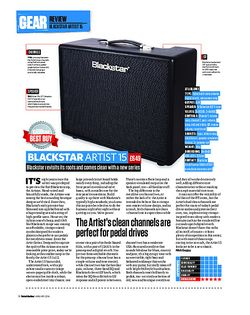 Total Guitar Blackstar Artist 15