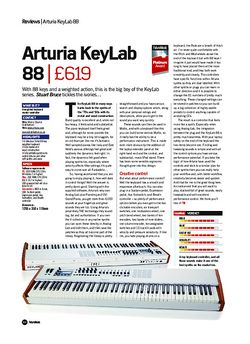 Future Music Arturia KeyLab 88