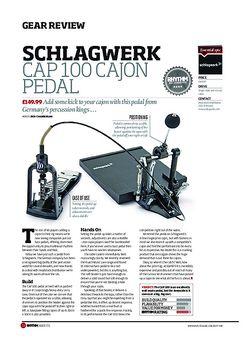 Rhythm Schlagwerk Cap 100 Cajon Pedal