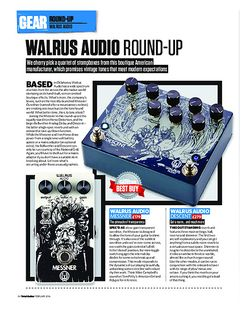Total Guitar Walrus Audio Round-Up