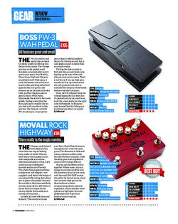 Total Guitar Boss PW-3 Wah Pedal