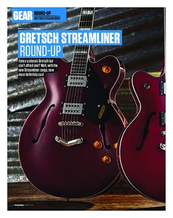 Total Guitar Gretsch G2420T, G2622, G2655 Streamliner Round-Up