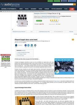 Audiofanzine.com Darkglass Electronics Vintage Deluxe v2