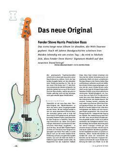 Gitarre & Bass Fender Steve Harris