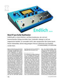 Gitarre & Bass Boss SY-300 Guitar Synthesizer