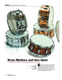 Sticks Ludwig Supra-Phonic Snaredrums