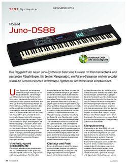 KEYS Roland Juno-DS88