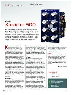 KEYS Elysia Karacter 500