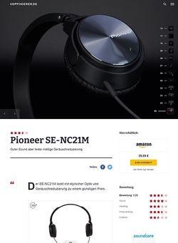 Kopfhoerer.de Pioneer SE-NC21M