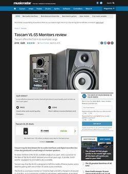 MusicRadar.com Tascam VL-S5 Monitors