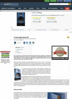 Audiofanzine.com PreSonus R65