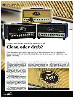 guitar Peavey Classic 20 MH, 6505 MH & Valveking 20 MH