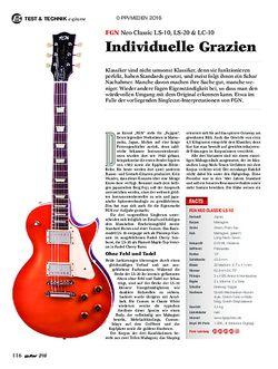 guitar FGN Neo Classic LS-10, LS-20, LC-10