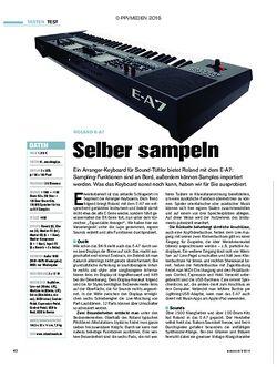 tastenwelt Roland E-A7