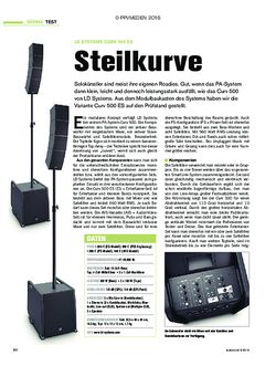 tastenwelt LD Systems Curv 500 ES