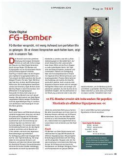 KEYS Slate Digital FG-Bomber