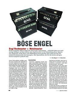 Gitarre & Bass Engl Rockmaster + Metalmaster