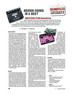 Gitarre & Bass MXR EVH 5150 Overdrive