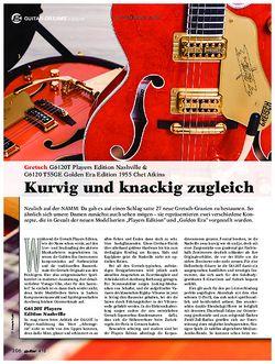 guitar Gretsch G6120T Players Edition Nashville & G6120 T55GE Golden Era Edition 1955 C