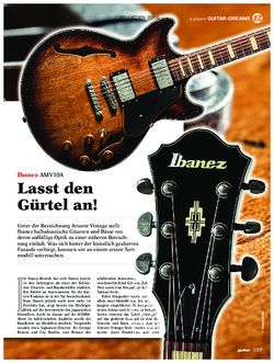 guitar Ibanez AMV10A