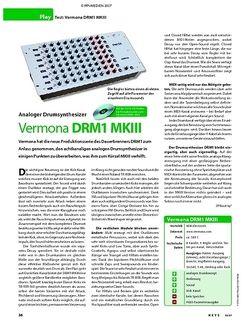 KEYS Test: Vermona DRM1 MKII