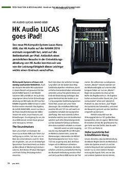 PMA HK Audio Lucas Nano 608I