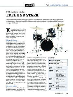 DrumHeads DW Design Series Mini Pro