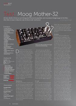 Beat Moog Mother-32