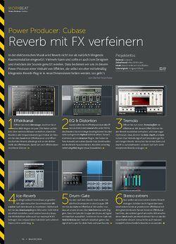 Beat Power Producer: Reverb mit FX verfeinern
