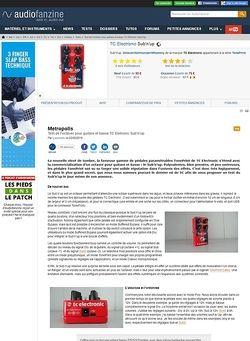 Audiofanzine.com TC Electronic Sub'n'up