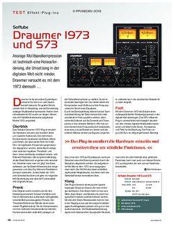 KEYS Softube Drawmer 1973 und S73