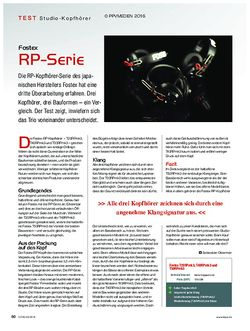KEYS Fostex RP-Serie