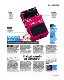 Total Guitar Boss V0-1 Vocoder