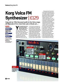 Future Music Korg Volca FM Synthesizer