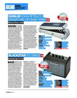 Total Guitar Dunlop John Petrucci Signature Cry Baby Wah