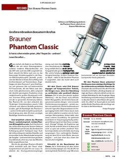 KEYS Test: Brauner Phantom Classic