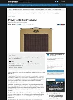 MusicRadar.com Peavey Delta Blues 15