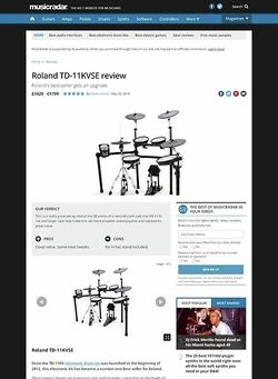 MusicRadar.com Roland TD-11KVSE