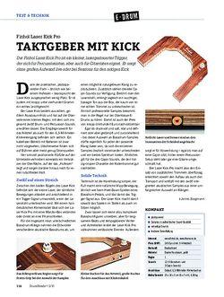 DrumHeads FInhol Laser Kick Pro